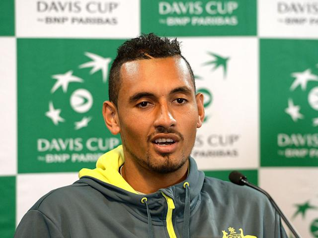 Nick Kyrgios continues to surprise with his antics: Getty