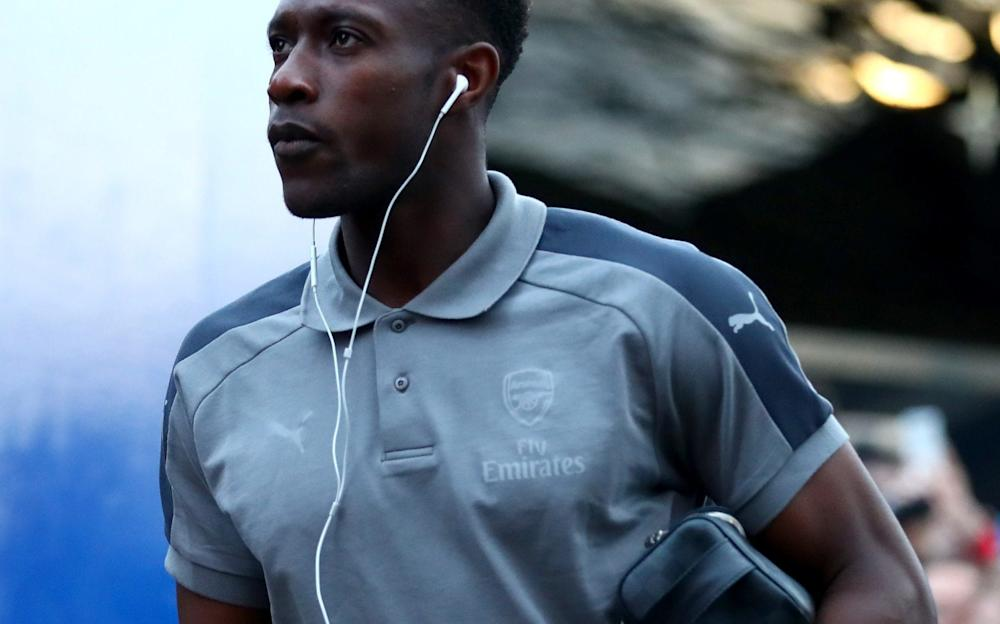 Danny Welbeck of Arsenal arrives prior to the Premier League match between Crystal Palace and Arsenal - Credit: Getty