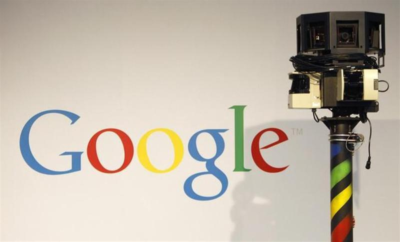 A camera used for Google street view is pictured at the CeBIT computer fair in Hanover March 2, 2010.