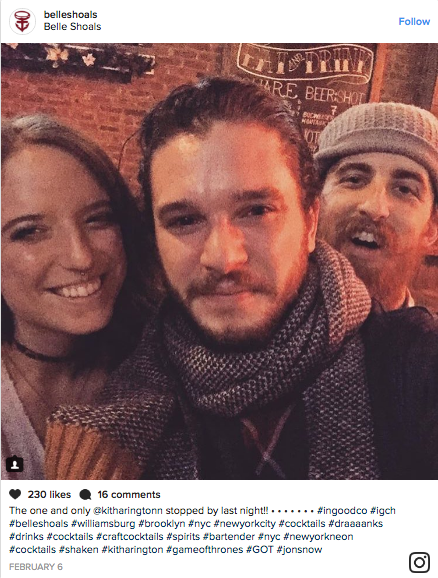 Jon Snow and Ygritte are still going strong.