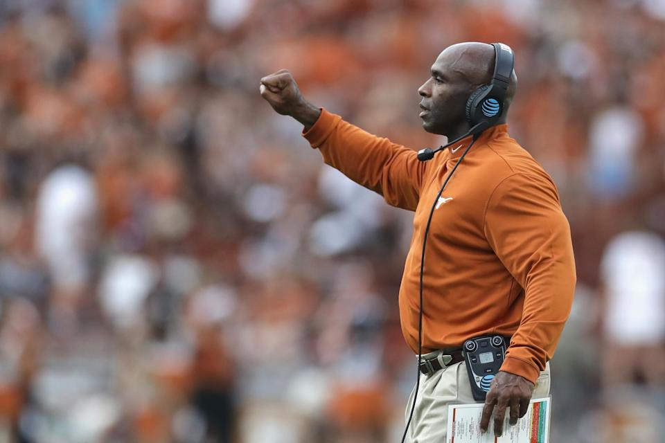 Charlie Strong is 16-20 at Texas. (Getty)