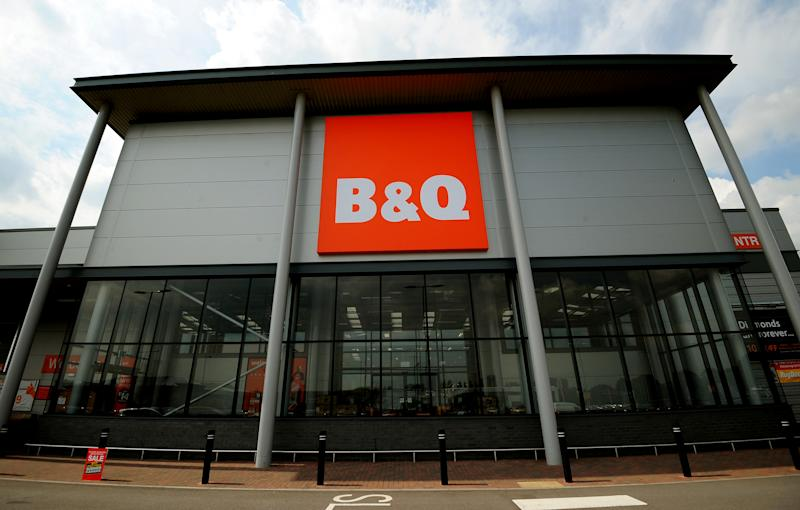 General view of a B&Q store in Tamworth. (Photo by Rui Vieira/PA Images via Getty Images)