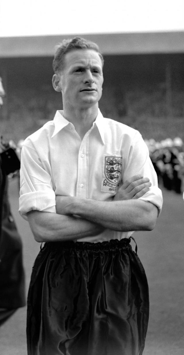<p>2 Tom Finney<br> Age: 36 years 182 days<br> Scored against Northern Ireland 1958 </p>