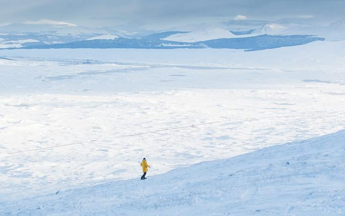 Ski slopes in Scotland will now stand empty as the country enters lockdown - Steven McKenna