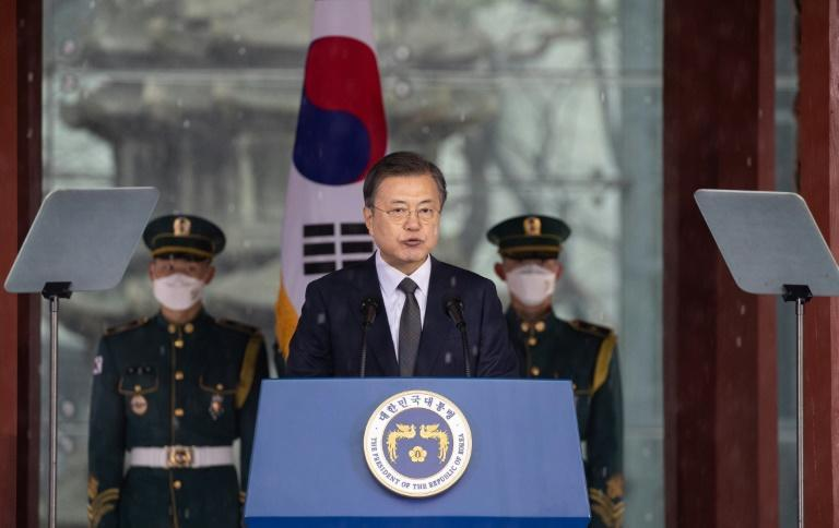 South Korean President Moon Jae-in has long backed engagement with Pyongyang