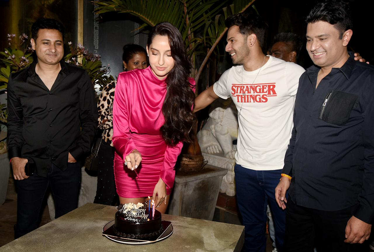 <p>Nora Fatehi turned a year older </p>