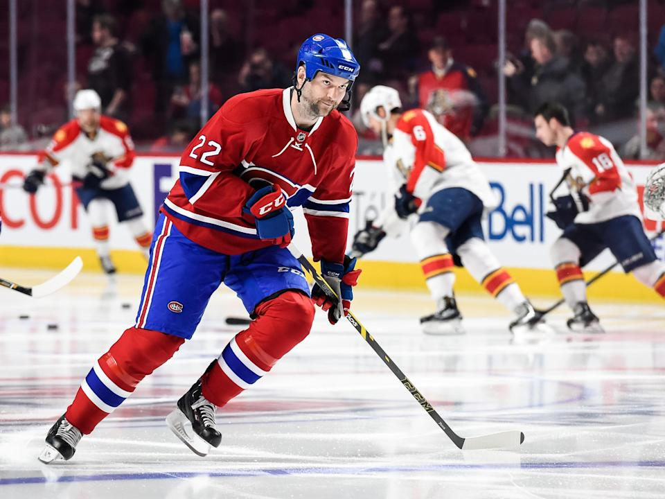 John Scott completes whirlwind season in Montreal with Canadiens