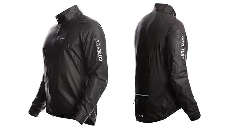 Waterproof cycling jacket: Gore