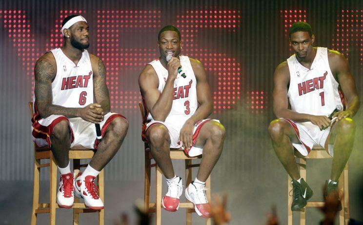 LeBron James remade NBA free agency in 2010. (AP)