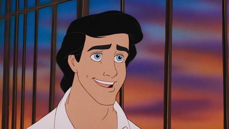 Prince Eric is the romantic lead in The Little Mermaid (Credit: Disney)