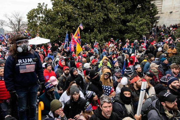 PHOTO: On Jan. 6, 2021, thousands of Trump loyalists tried to overtake the U.S. Capitol building in Washington, DC. (Maranie Rae Staab/Redux)