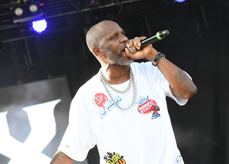 Rapper DMX was hospitalized for a heart attack, according to his spokesperson. (Photo: Paras Griffin/Getty Images)