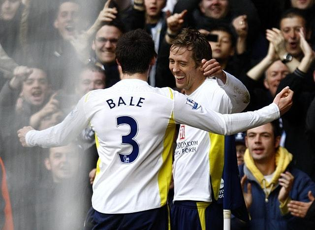 Crouch was team-mates with Bale in the Welshman's first spell at White Hart Lane