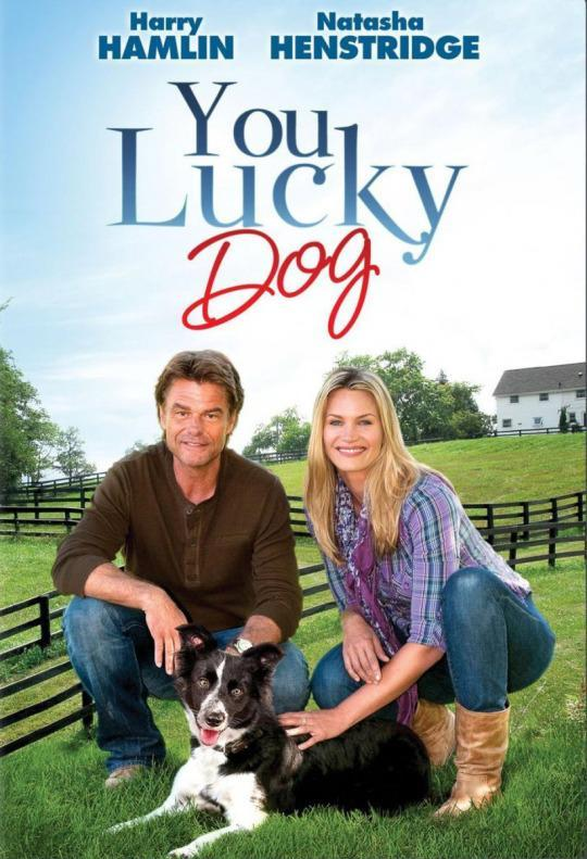 <p>Natasha Henstridge (<i>Species II</i>) stars in this heartwarming dog movie about a dog who warms hearts. Ouch, there's such a thing as TOO WARM, dog! Get out of here. <em>(Credit: Disney Channel)</em> </p>