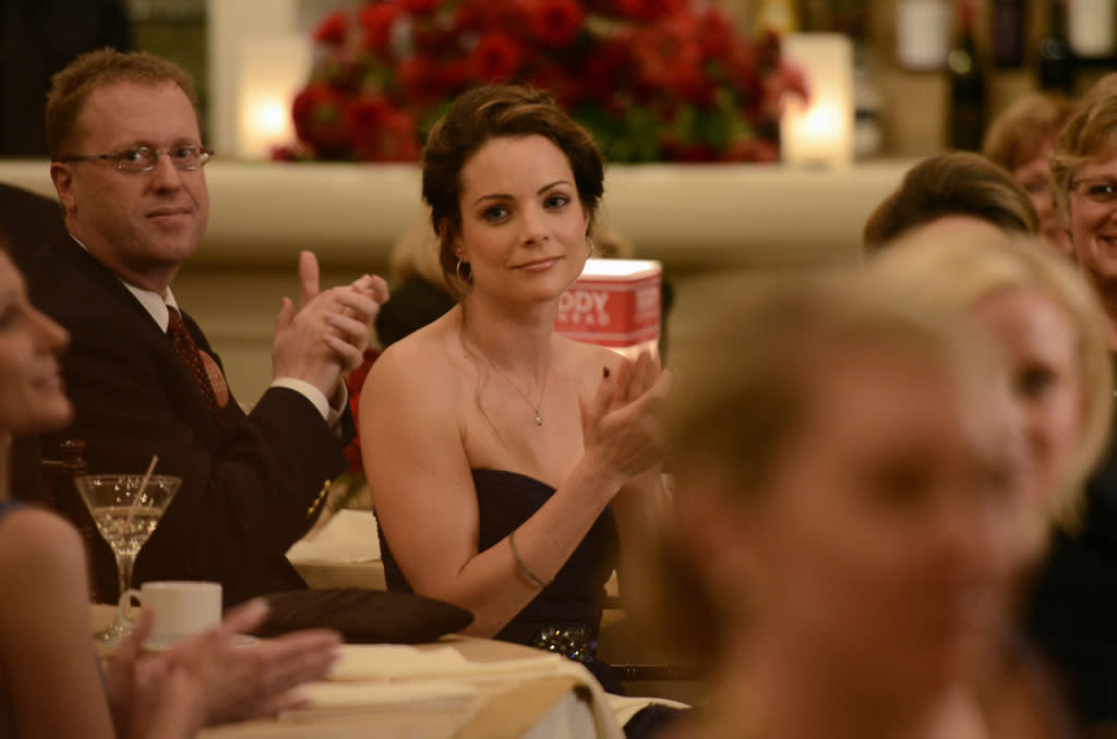 "Kimberly Williams-Paisley in the ""Nashville"" episode, ""We Live in Two Different Worlds."""