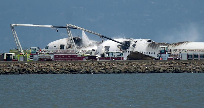 At tail end of trans-Pacific flight, terror
