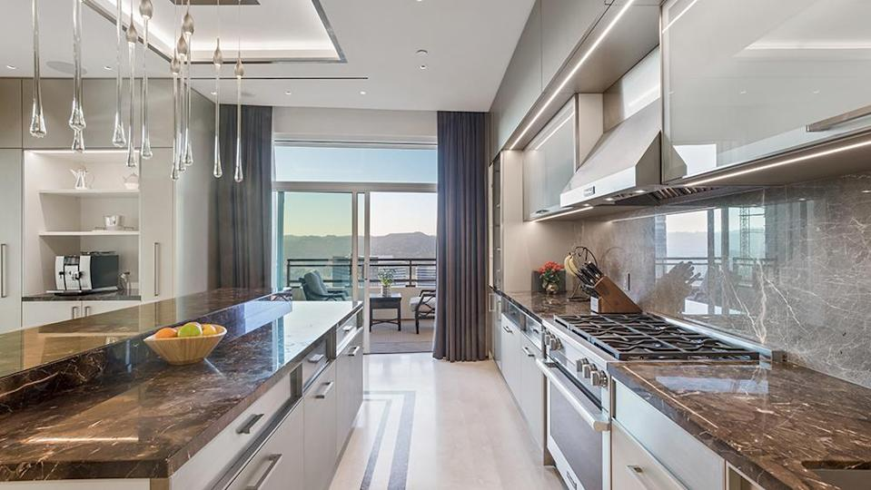The kitchen - Credit: Photo: Anthony Barcelo/Compass