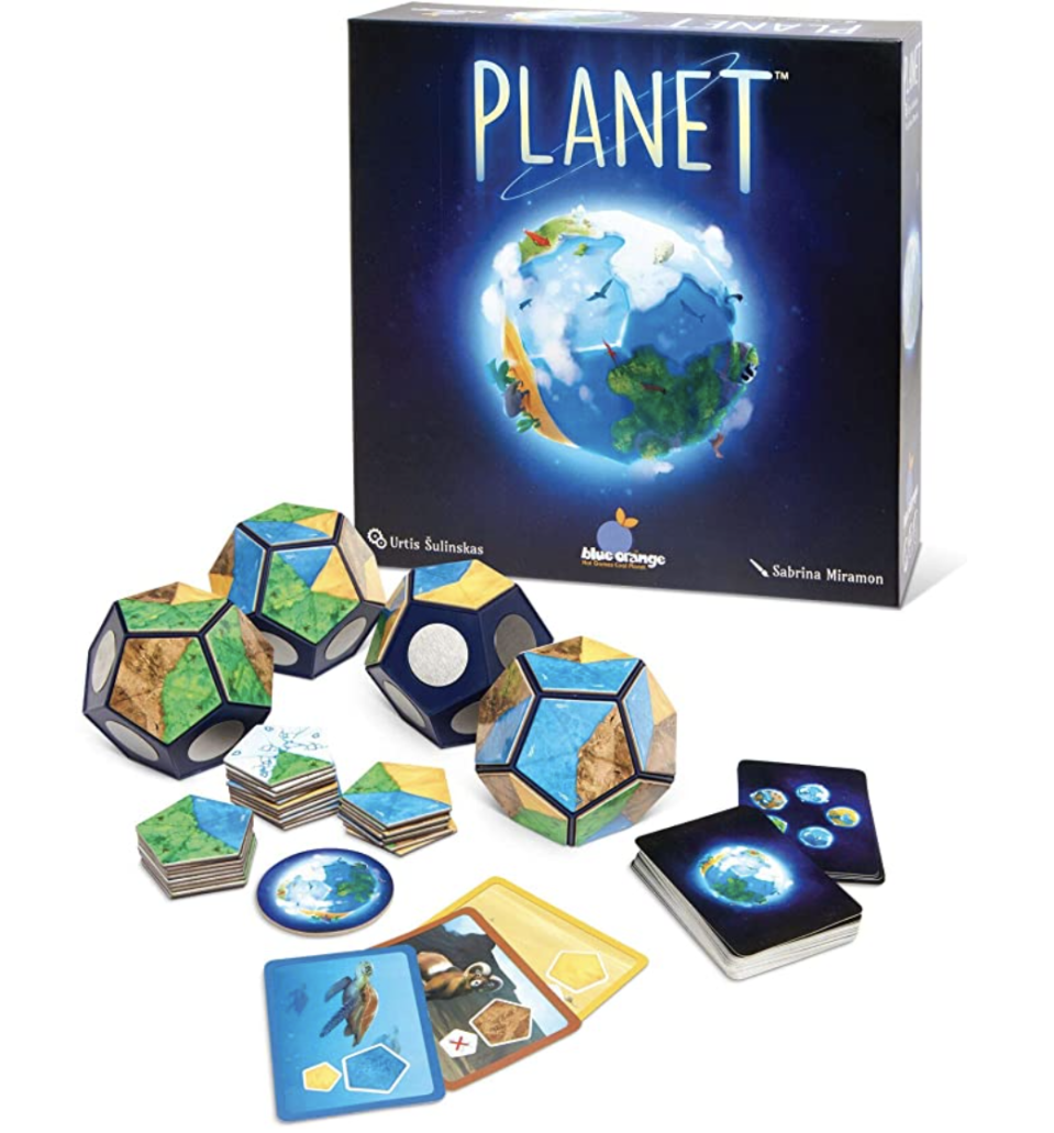 Planet board game, award-winning strategy 3D board game. PHOTO: Amazon