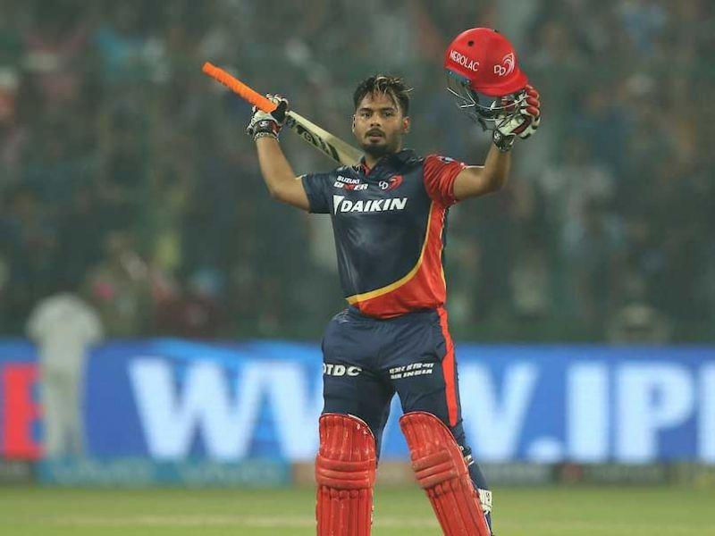 Pant also holds the record for the highest individual score by an Indian cricketer in the IPL history