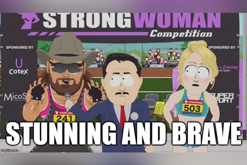 The term was used to describe Caitlyn Jenner in the South Park episode (South Park Studios)