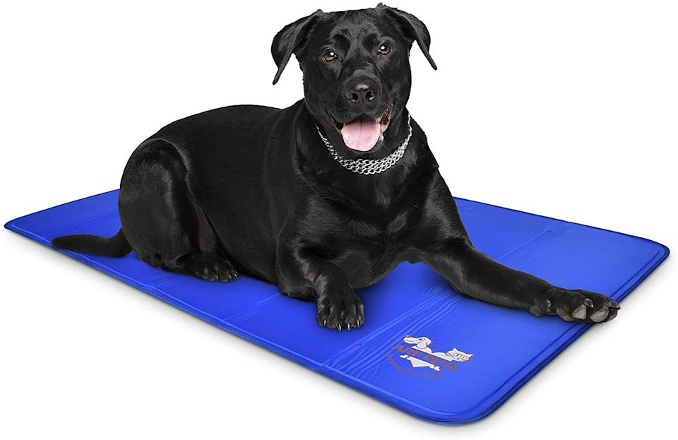 Users swear their pets love these mats. (Photo: Amazon)