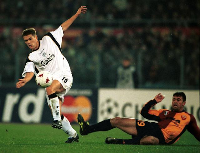 Michael Owen was the hero for Liverpool at the Stadio Olimpico