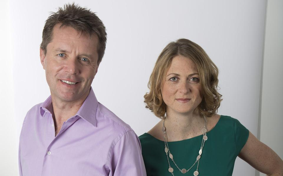 Nicky Campbell and Rachel Burden - WARNING: Use of this copyright image is subject to the terms of use of BBC Pictures' Digital Picture Service (BBC Pictures) as set out at www.bbcpictures.co.uk. In particular, this image may only be published by a registered User of BBC Pictures for editorial use for the purpose of publicising the relevant BBC programme, personnel or activity during the Publicity Period which ends three review weeks following the date of transmission and provided the BBC and the copyright holder in the caption are credited. For any other purpose whatsoever, including advertising and commercial, prior written approval from the copyright holder will be required.