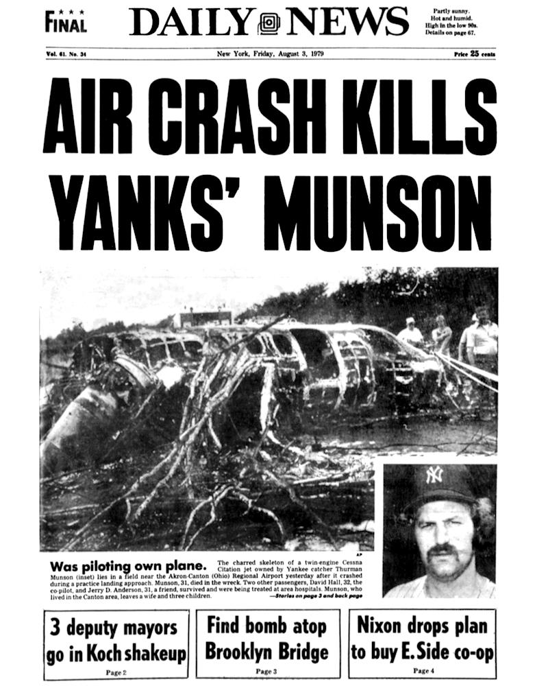 The headline from the New York Daily News. (Photo by NY Daily News Archive via Getty Images)