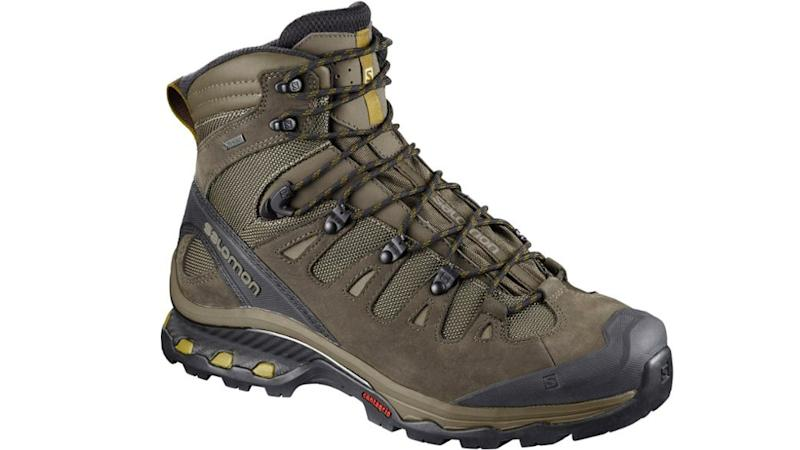 These boots were made for hiking.