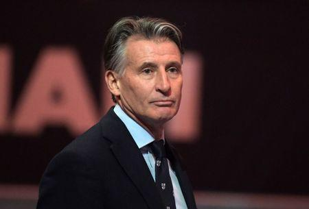 FILE PHOTO - Mar 1, 2018; Birmingham, United Kingdom; IAAF president Sebastian Coe (GBR) attends the IAAF World Indoor Championships at Arena Birmingham. Mandatory Credit: Kirby Lee-USA TODAY Sports