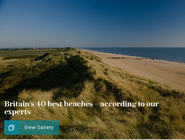 Britain's 40 best beaches – according to our experts