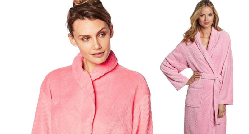 Amazon's best selling bathrobe comes in seven colours.