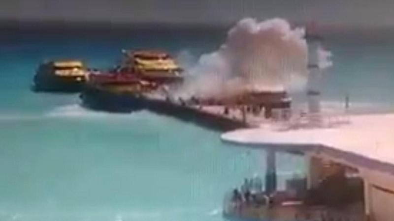 Ferry Boat Explosion Sparks Mexico Travel Warning Ahead of Spring Break