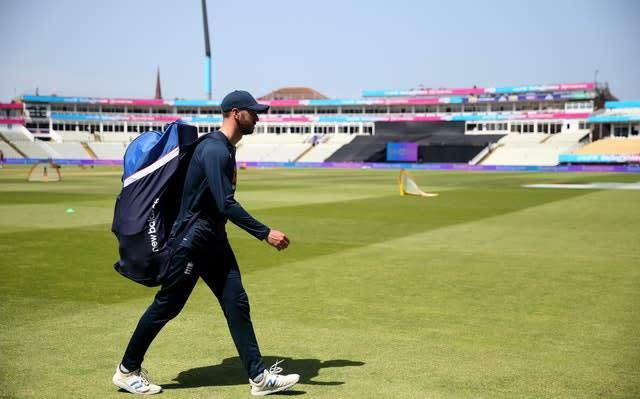 Mark Wood is ready for the prospect of an extended England camp away (Steven Paston/PA)