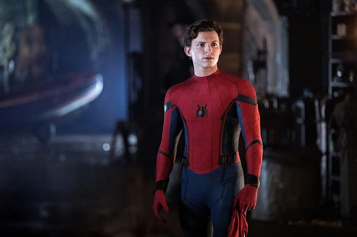 "<p>For Tom Holland's second Spider-Man film, <em>Spider-Man: </em><em>Far From Home, </em>he revealed he intentionally bulked up in order to age the character. ""I didn't enjoy the bulking process and I also don't think I looked in better shape. I just was a bit thicker and a bit chubbier in the face, a little bit,"" Holland <a href=""https://www.youtube.com/watch?v=oe9Uiw-pVNY&feature=youtu.be"" rel=""nofollow noopener"" target=""_blank"" data-ylk=""slk:revealed in an interview"" class=""link rapid-noclick-resp"">revealed in an interview</a>.</p>"