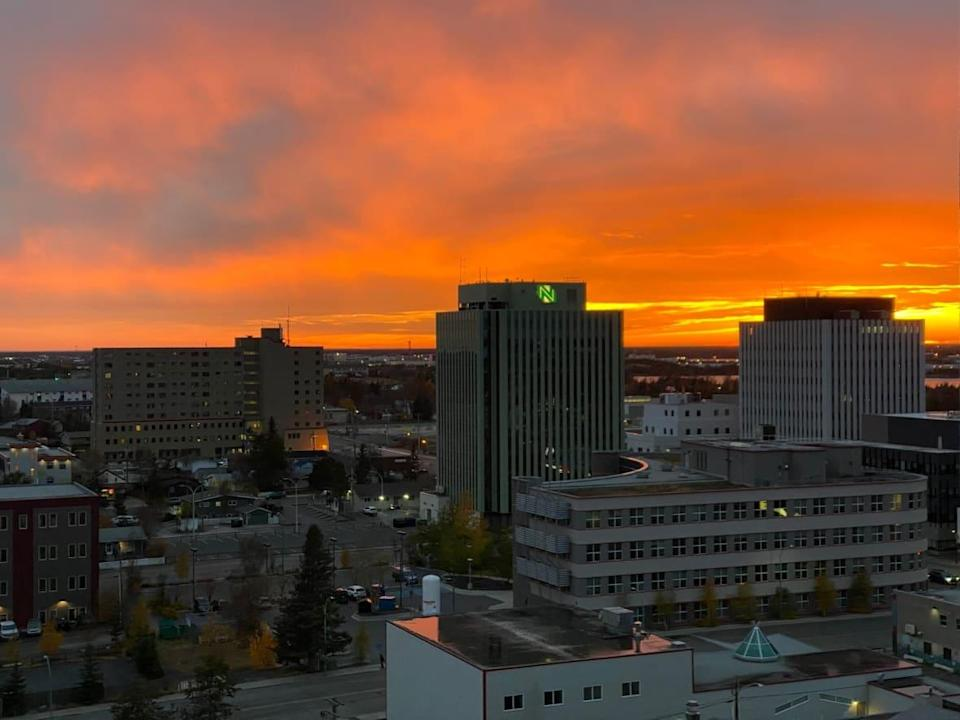 Seven of the 10 exposure notices issued Saturday evening are for businesses in Yellowknife.  (Graham Shishkov/CBC - image credit)