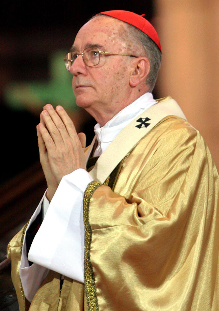 <b>Cardinal Claudio Hummes</b><br> <b>Country:</b> Brazil<br> <b>Age:</b> 78<br> <b>Title:</b> Cardinal-Priest of S. Antonio da Padova in Via Merulana<br><br> A former archbishop of Fortaleza and São Paulo, Cardinal Hummes was appointed to head the Congregation for the Clergy by then-Pope Benedict XVI in 2006. He is a strong proponent of social justice and is a member of the Order of Friars Minor, also known as the Franciscans.