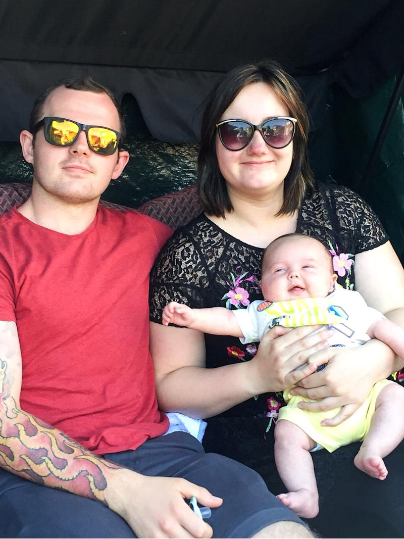 Mum speaks out after losing son to SIDs. Source: Caters News