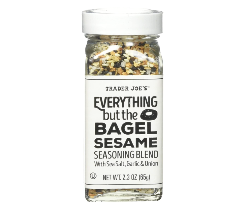 Trader Joe's Everything But The Bagel Sesame Seasoning Blend. Image via Amazon.