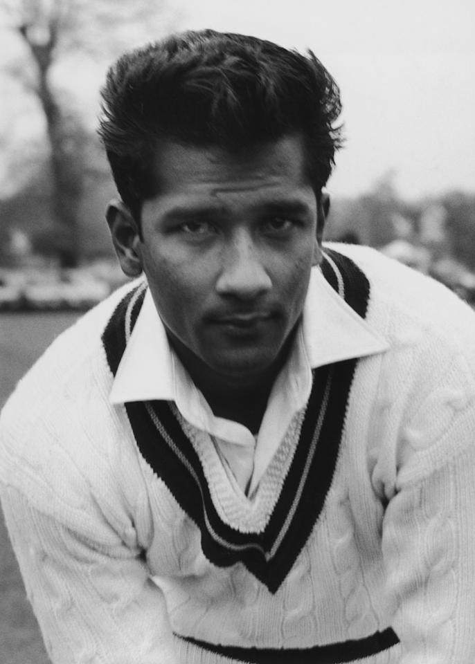 West Indies cricketer Rohan Kanhai, May 1957. (Photo by Fox Photos/Hulton Archive/Getty Images)