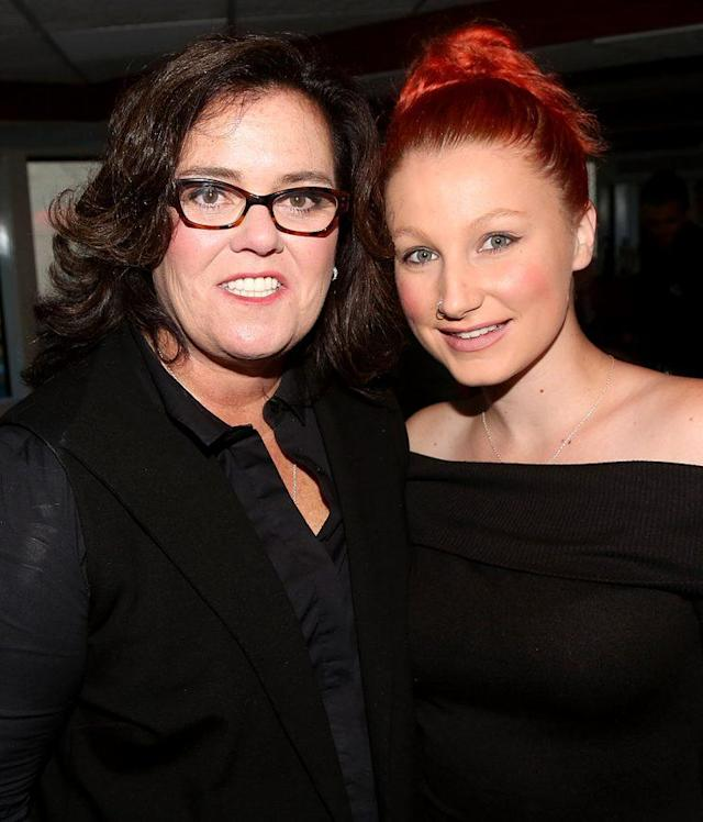 Rosie O'Donnell's daughter Chelsea hasn't been living under her roof since 2015, but that hasn't stopped Chelsea from bashing O'Donnell's parenting skills. (Photo: Getty Images)