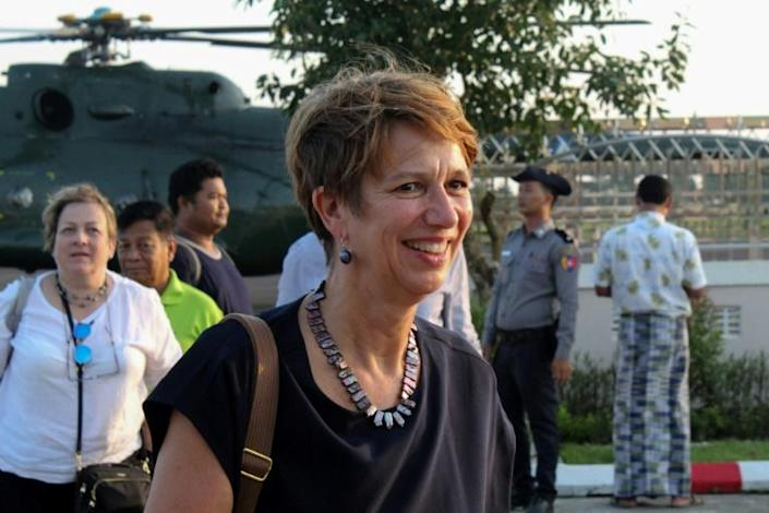 UN special envoy Christine Schraner Burgener wants face-to-face meetings with the generals but she has not received permission to visit Myanmar