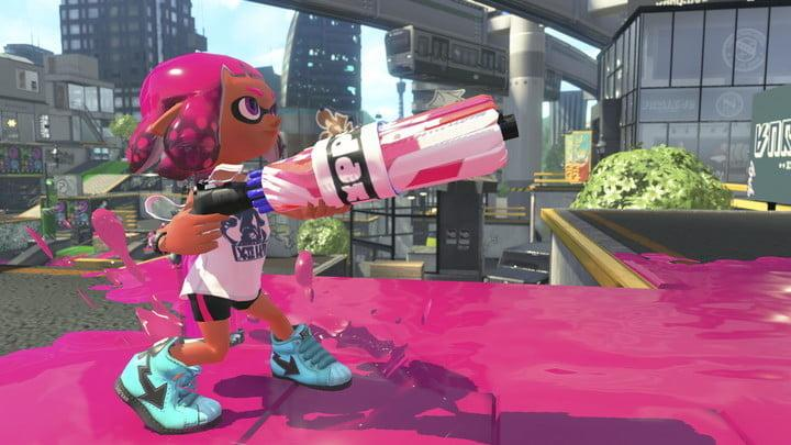 Splatoon 2 review character screenshot close