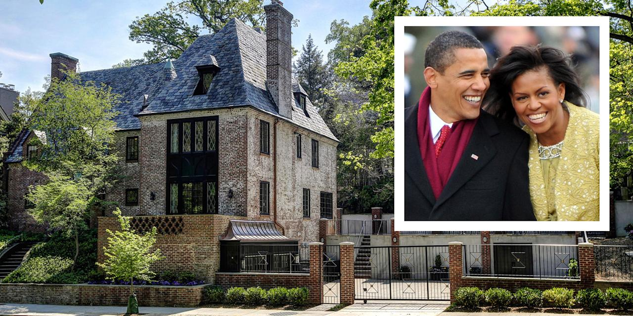 <p>The Obamas just purchased the home they've been renting in the Kalorama neighborhood of Washington D.C.</p>