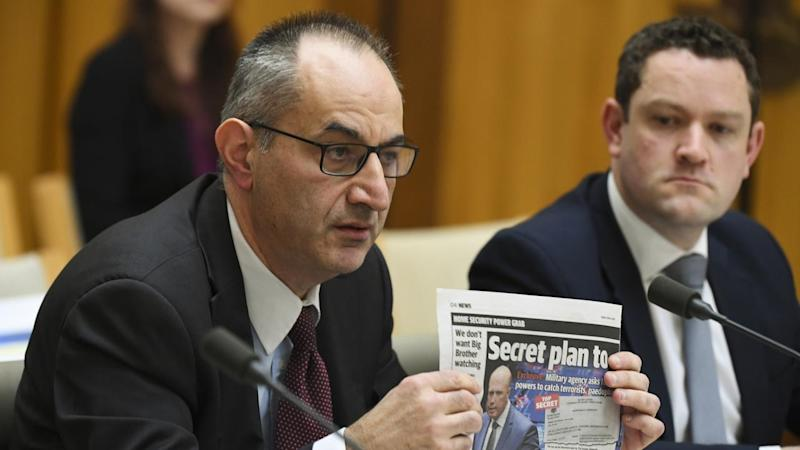 Home Affairs chief Mike Pezzullo says the publication of a classified document is unacceptable