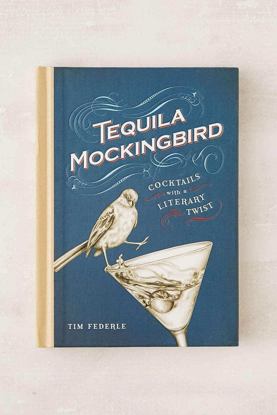 <p>Anyone will smile upon receiving this <span>Cocktails With a Literary Twist Book</span> ($7, originally $15).</p>