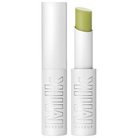 """<h3>Milk Makeup KUSH Lip Balm</h3><br>The hemp-derived cannabis oil in this new lip balm won't get you high, but it <em>will</em> give you the softest, flake-free lips. Don't let the green tint spook you: The formula goes on clear and glossy.<br><br><strong>Milk Makeup</strong> KUSH Lip Balm, $, available at <a href=""""https://go.skimresources.com/?id=30283X879131&url=https%3A%2F%2Fwww.sephora.com%2Fproduct%2Fkush-lip-balm-P440645%3Ficid2%3Dmilkmakeup_whatsnew_us_productcarousel_ufe%3Ap440645%3Aproduct"""" rel=""""nofollow noopener"""" target=""""_blank"""" data-ylk=""""slk:Sephora"""" class=""""link rapid-noclick-resp"""">Sephora</a>"""