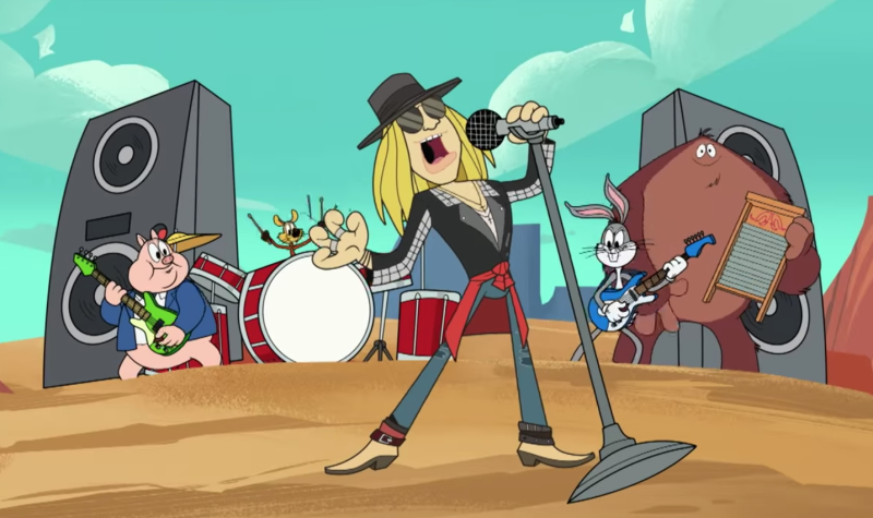 Cartoon Axl Rose debuts first new song in 10 years