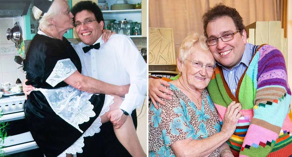 Edna and Simon Martin have been married for 14 years. [Photo: SWNS]