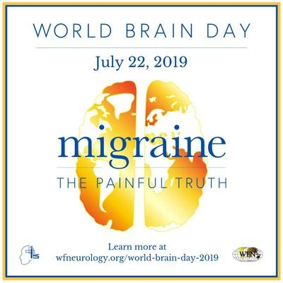 The goal of World Brain Day is to bring migraine out of the shadows to create a broader understanding of how severely migraine impacts those living with the disease, and how deeply it affects society worldwide. Join us on July 22 to share the painful truth about migraine.